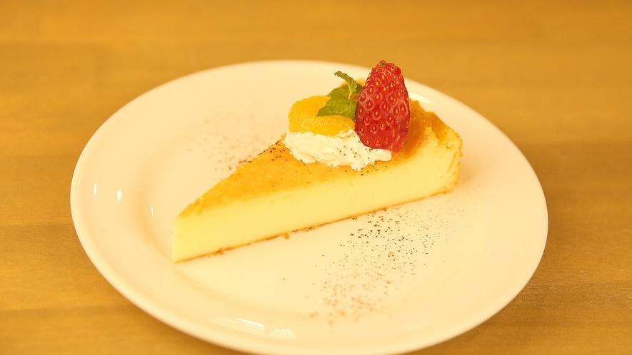 ・食事_デザート チーズケーキ