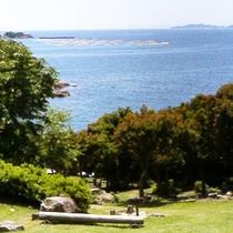 自然あふれる島の高台でオートキャンプ♪♪♪