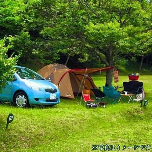 まほろば敷地内のオートキャンプ区画をお貸しするプランです♪ ※写真はイメージです