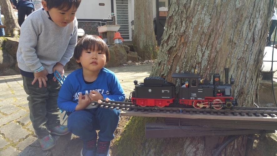 鉄道模型とお子様