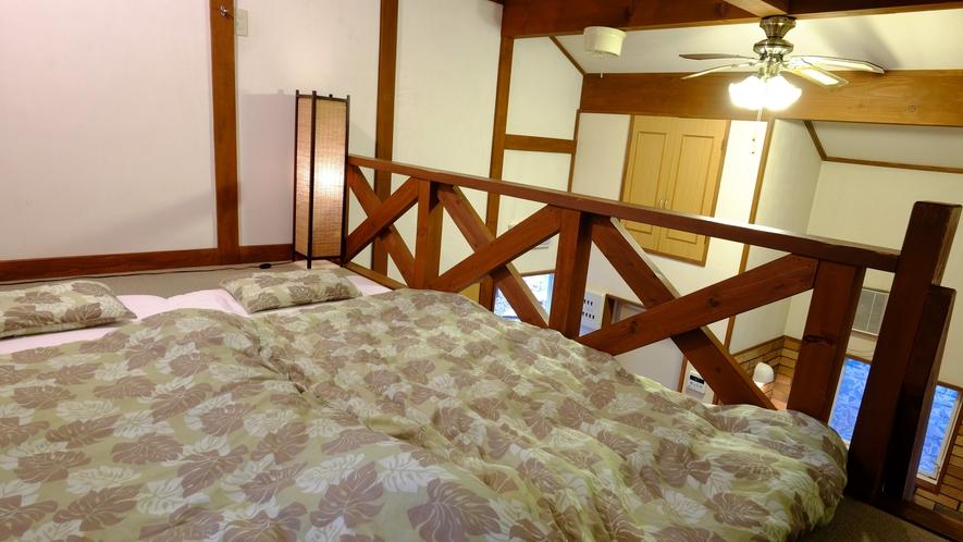 ロフトの寝具