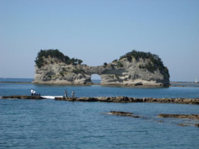 名勝「円月島」