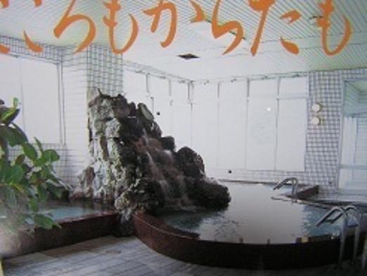 天然温泉入泉券と柿の葉寿司5〜6個付きプラン