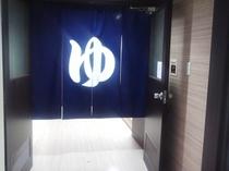 男性用大浴場入口です