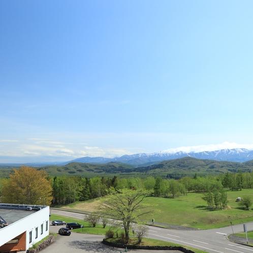 ホテル前の風景