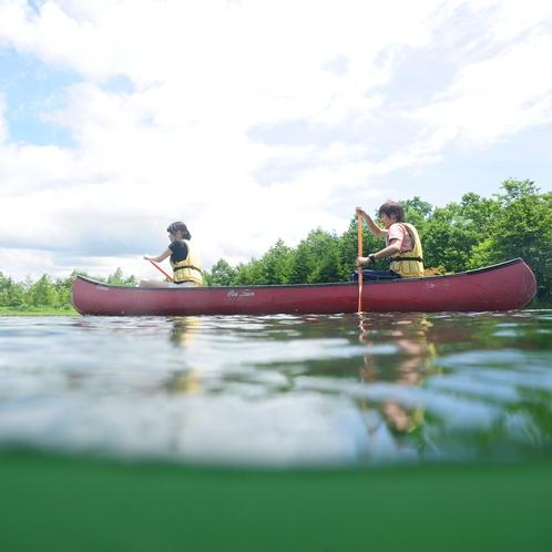 新内池カヌー