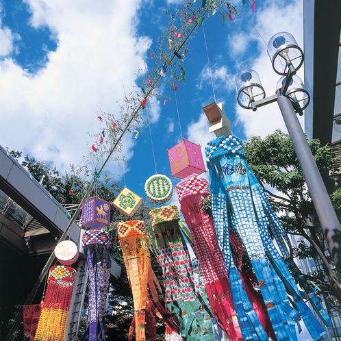 「仙台七夕まつり」会場はホテル近隣です(写真提供:仙台市観光課)