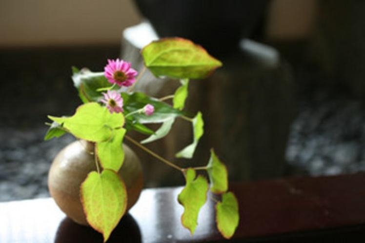 ある日の館内のお花