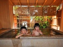 貸切風呂と子供