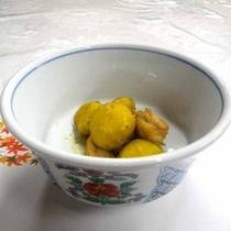 *【夕食一例】栗と鳥の煮物 ホクホク栗と鳥の旨みがギュッ!