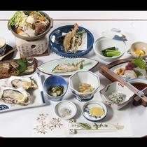 *【お食事一例】冬季の夕食