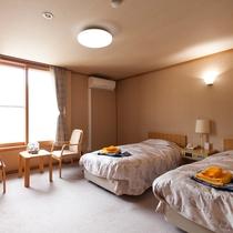 *【新館】洋室ツインルーム(一例)