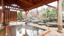 *【混浴露天風呂(下の湯)】北海道最古の開湯約800年。湯量も豊富です。
