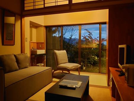 和室7.5畳(1〜2名様)和洋室ベッドルーム
