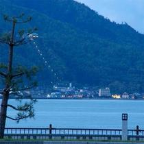 天橋立(笠松公園ライトアップ)