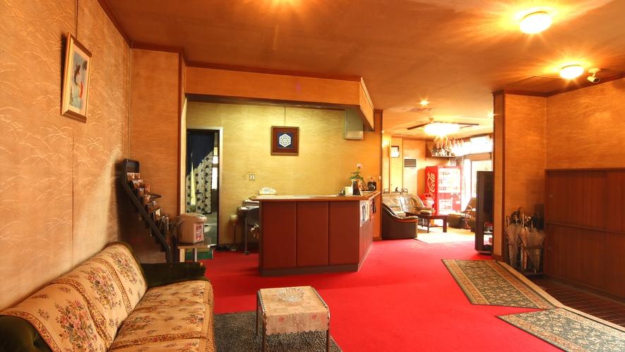 フロント・ロビー-お客様にくつろぎの空間を♪ごゆっくりお過ごしください♪