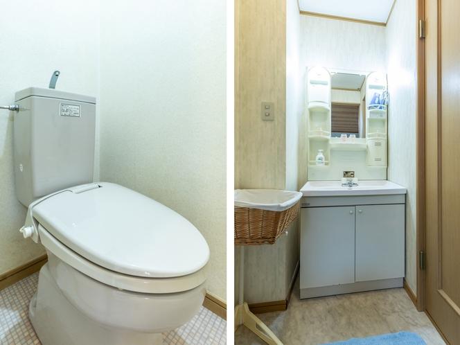 【本館】和室1~4名様【禁煙】トイレ・洗面所