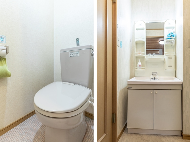 【本館】和室1~5名様【禁煙】トイレ・洗面所