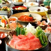 【お食事】ご夕食(お選び:里)
