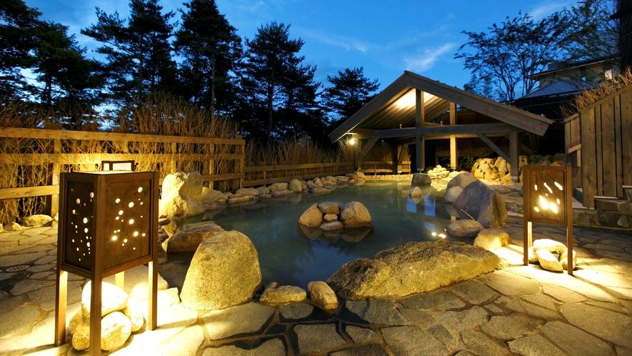 ●【大浴場】≪拾八の湯≫ 露天風呂