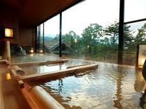 【大浴場】≪廿二の湯≫ 檜湯