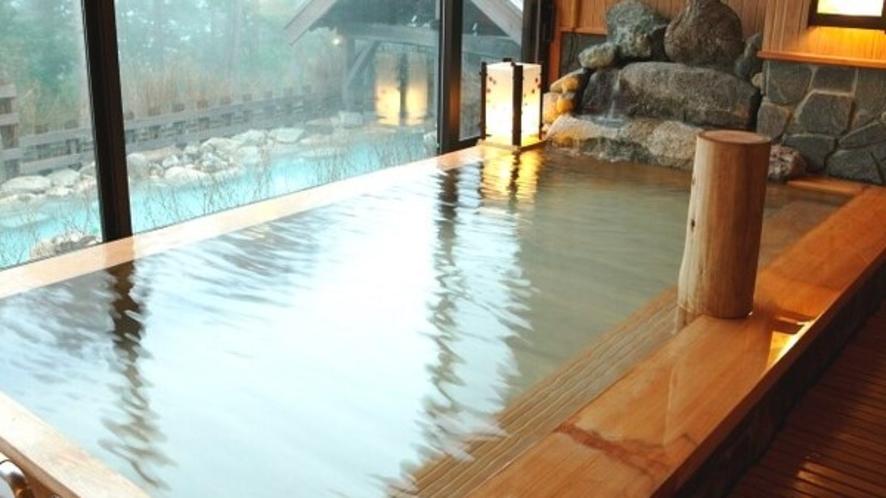●【大浴場】≪拾七の湯≫ 古代檜湯