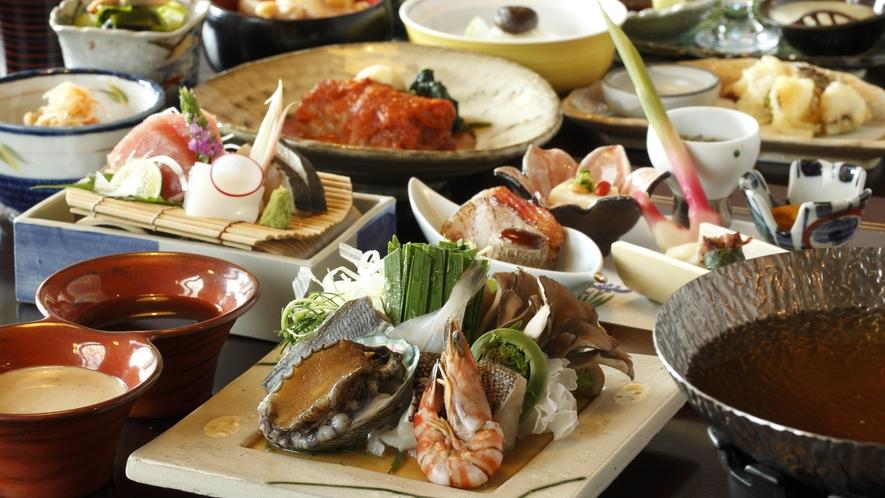●ご夕食:お選び海※一例