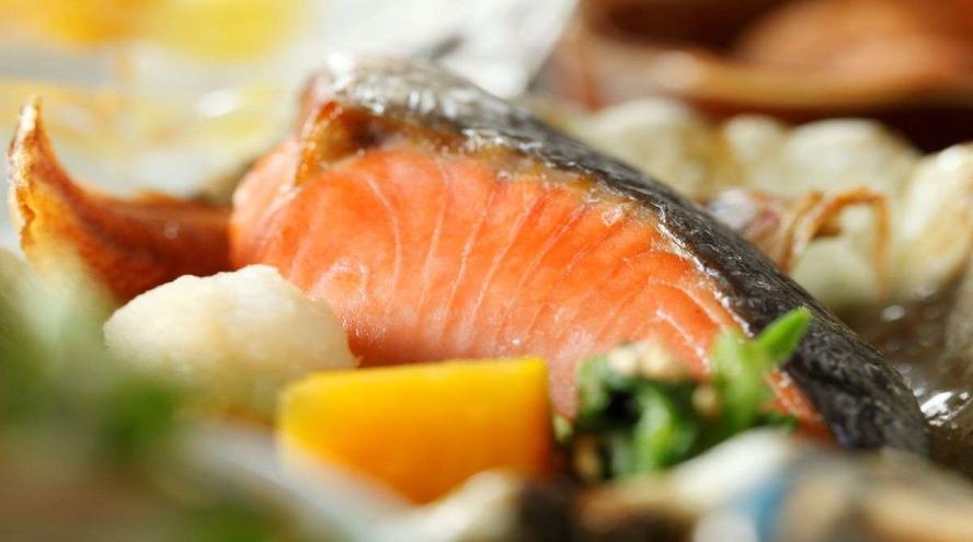 ●【ご朝食】和膳:焼き魚※一例