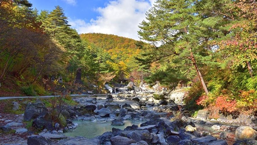 ●【周辺観光】西の河原露天風呂