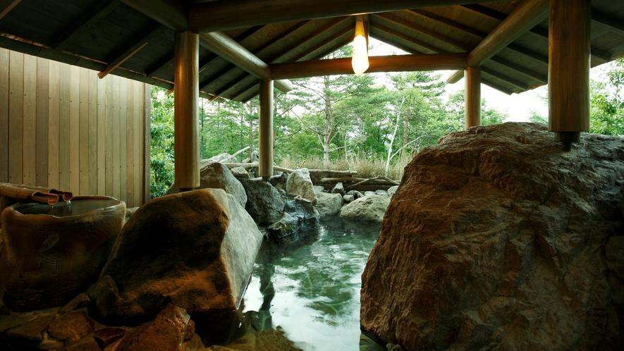 ●【貸切露天風呂】≪壱の湯≫ 岩室