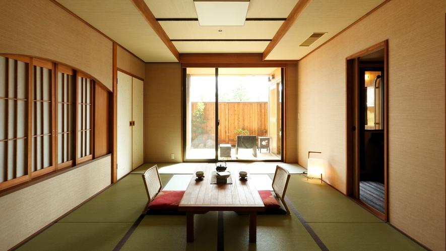 ●【客室】温泉露天風呂付きデラックススイート