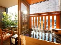 【客室】温泉露天風呂付き和洋室B(40㎡~46㎡)
