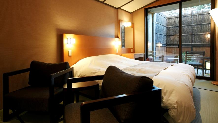 ●【客室】露天風呂付きダブルルーム
