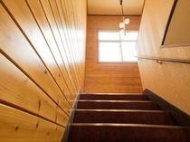 「本館」階段