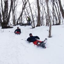 *アクティビティ・スノーシュー/普段見ることの出来ない絶景やふかふかの雪を思い切り楽しもう!