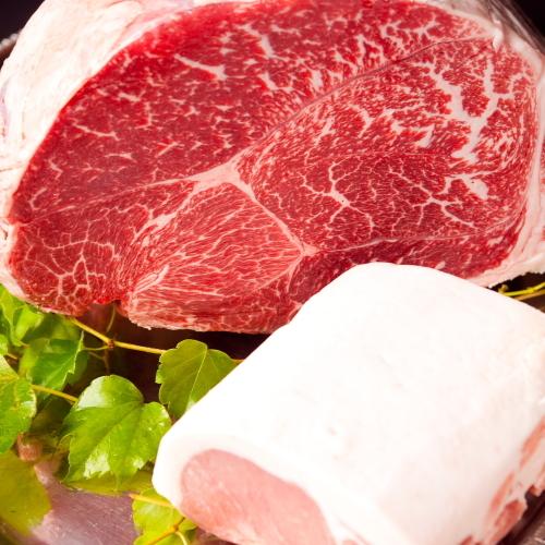 【料理】厳選した九州産黒毛和牛!