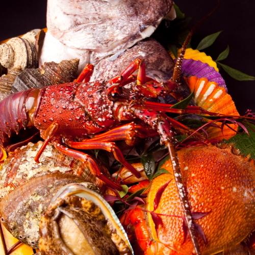 【料理】豊後水道が育んだ新鮮な魚介類/一例