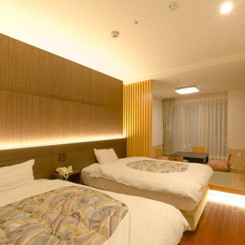 【部屋】スーペリア和洋室【和室6畳】です。