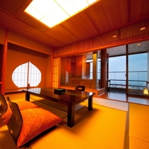 【部屋】露天風呂付和室|和室10畳+6畳(専用露天風呂付)[なでしこ]