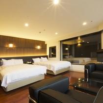 【部屋】海側・リニューアル|露天風呂付きデラックス和洋室