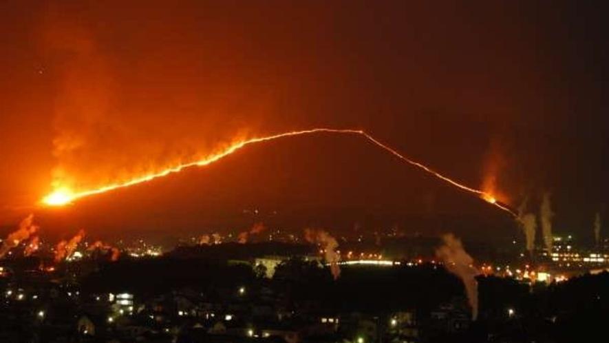 ◆4月/別府八湯温泉まつり/扇山火まつり