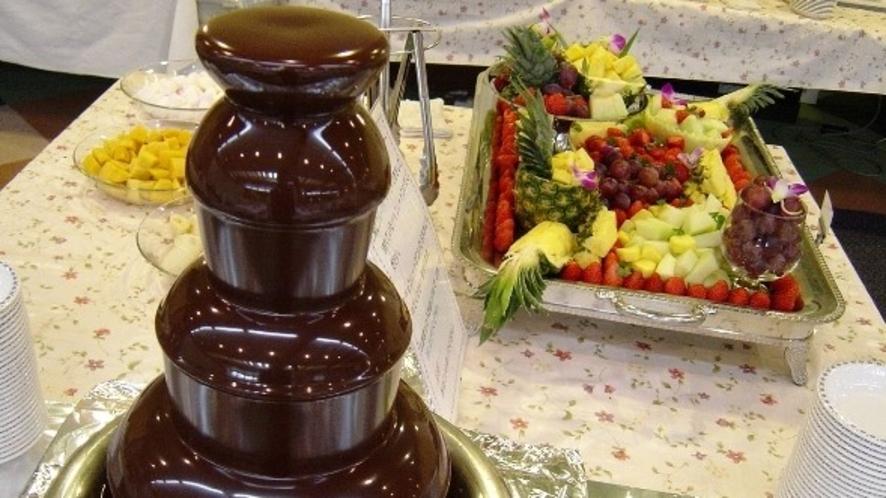 チョコレートフォンデュ(イメージ)