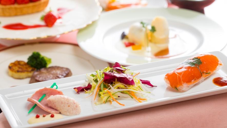 季節の洋食(イメージ)