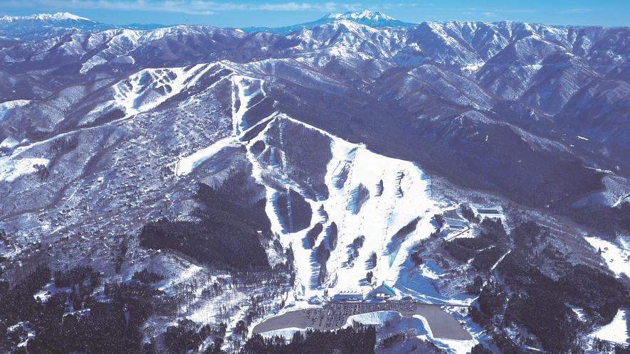鷲ヶ岳スキー場(全景)