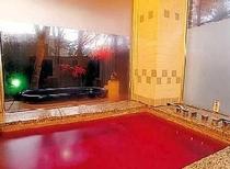 広々いちご風呂