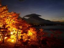 夕焼の渚・紅葉祭り・富士山