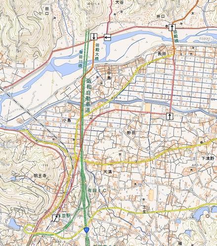 千葉山ハイキングマップ-2