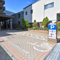 身体障害者駐車場