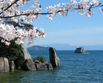 【周辺】琵琶湖観光船「オーミマリン