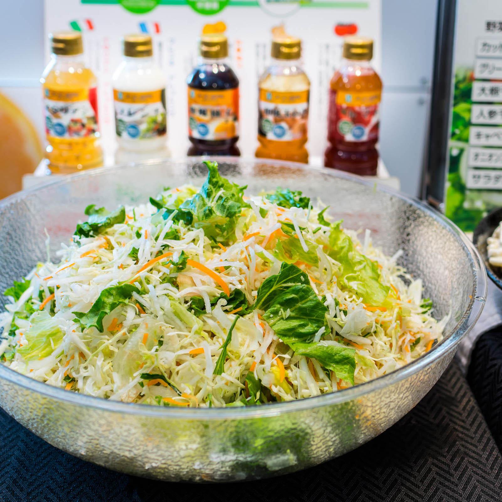 有機JASサラダ〜日本のサラダの1%未満・安心・素材の旨味・育てる土から健康